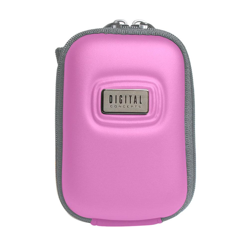 Estojo semi-rígido para câmera digital  Pink