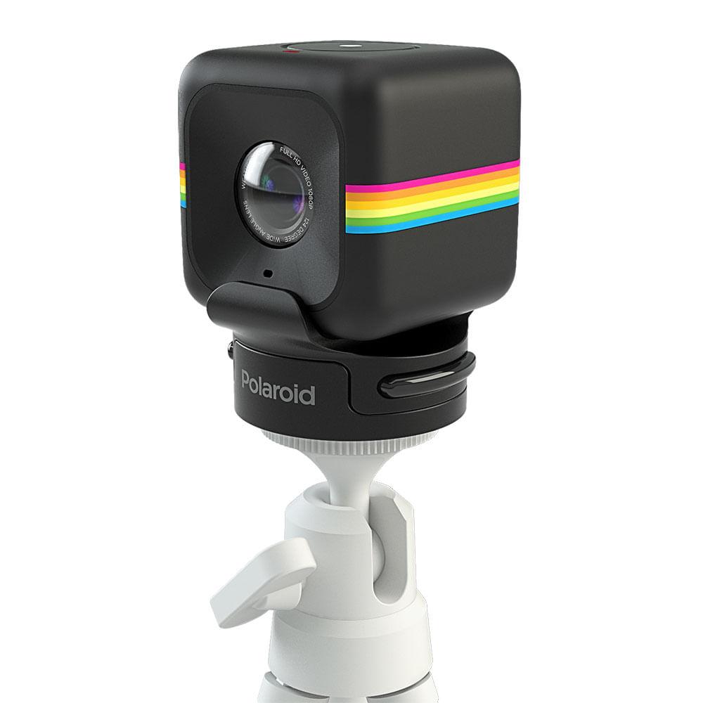 Suporte Para Encaixe De Câmera De Ação Cube Da Polaroid Em Tripé Com Rosca Universal
