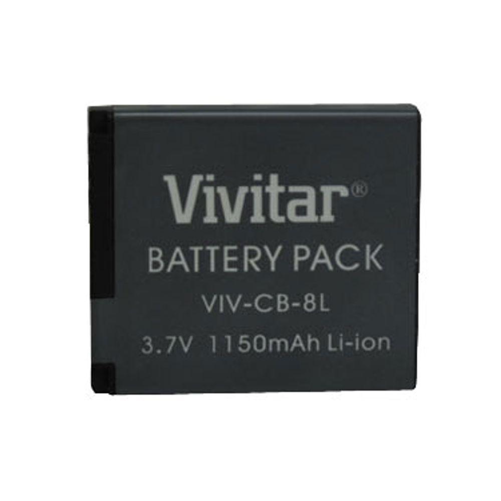 Bateria recarregável equivalente a Canon modelo NB8L