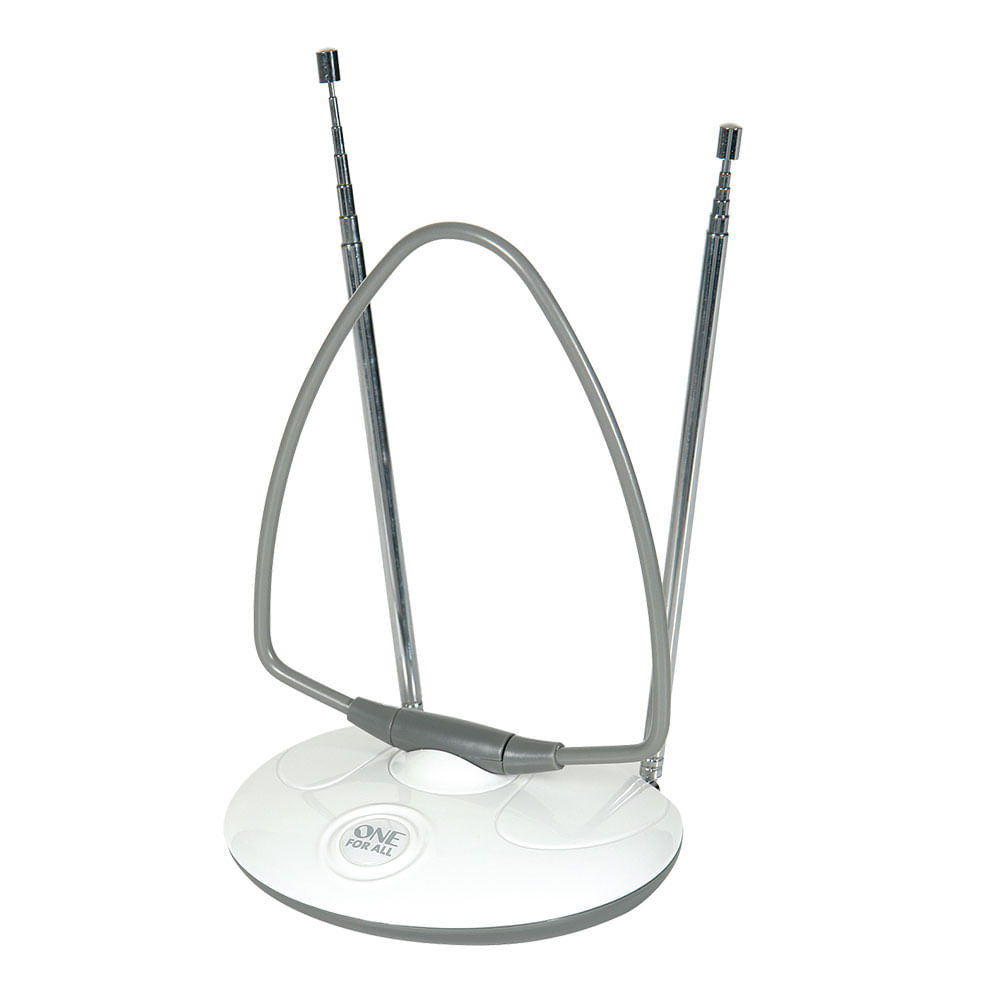 Antena Interna Análogica E Digital Vhf/uhf Para Tv E Rádio