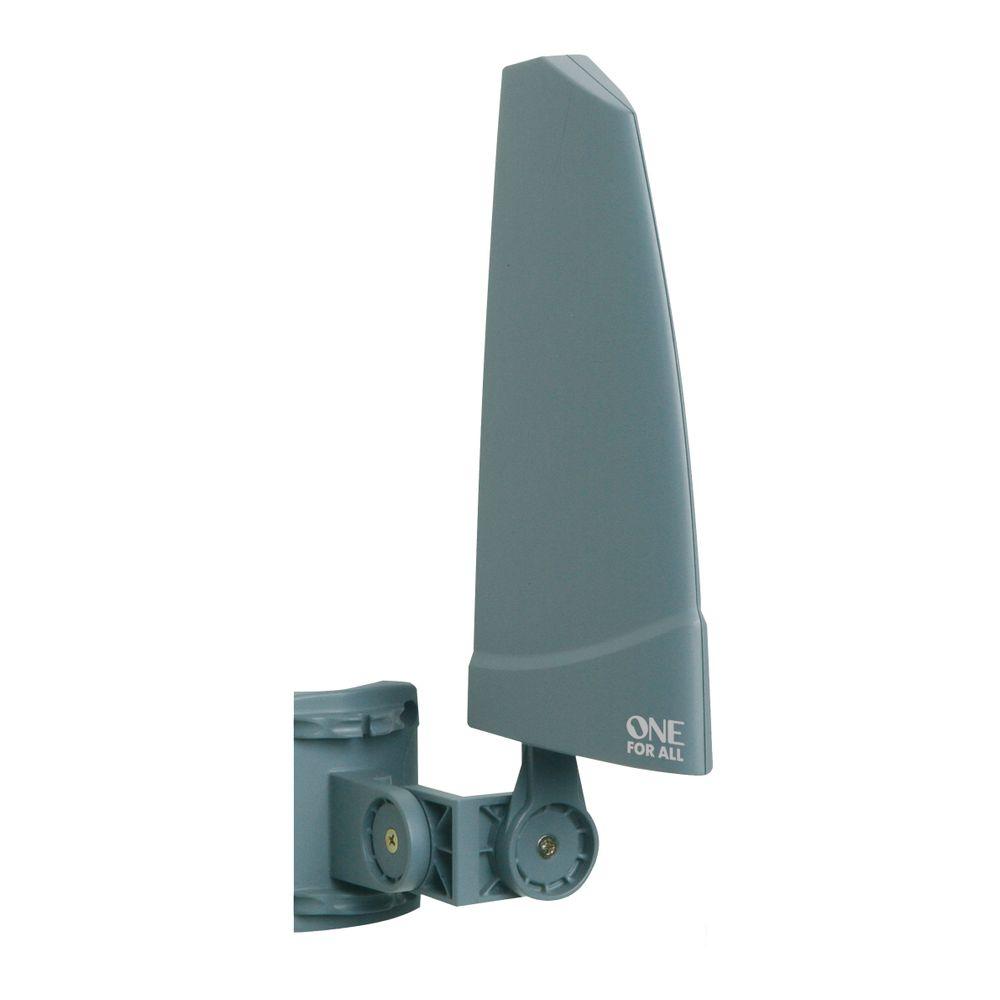 Antena Interna E Externa Amplificada De 36 Db Tv / Uhf / Vhf