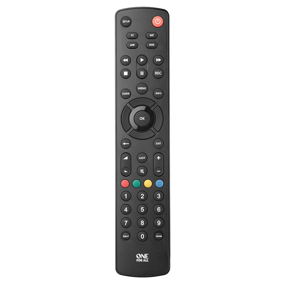 Controle Remoto universal  4 em 1 TV, DVD,SAT, AUDIO One For All