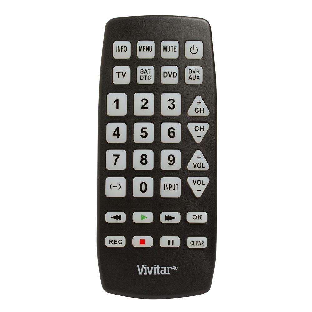 Controle remoto universal gigante para até 4 aparelhos