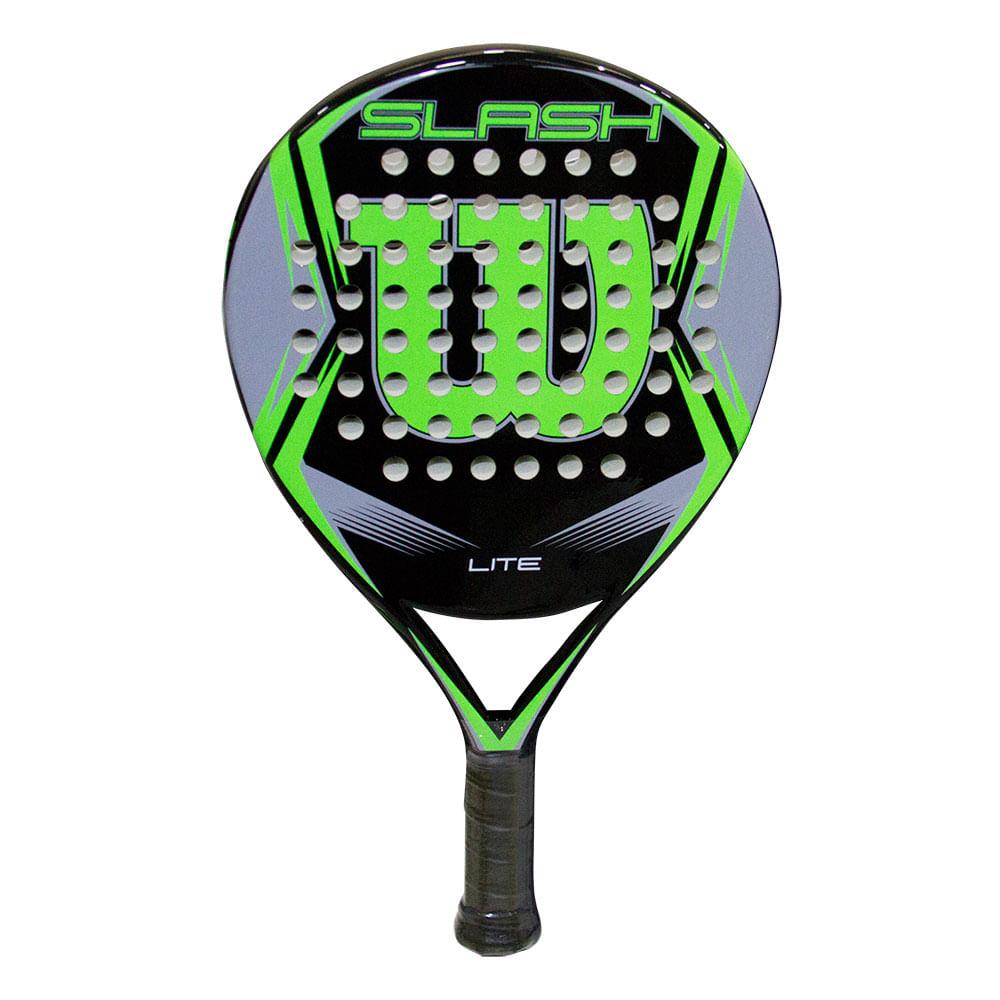 Raquete de tênis Paddle Slash Lite Wilson Preta e Verde