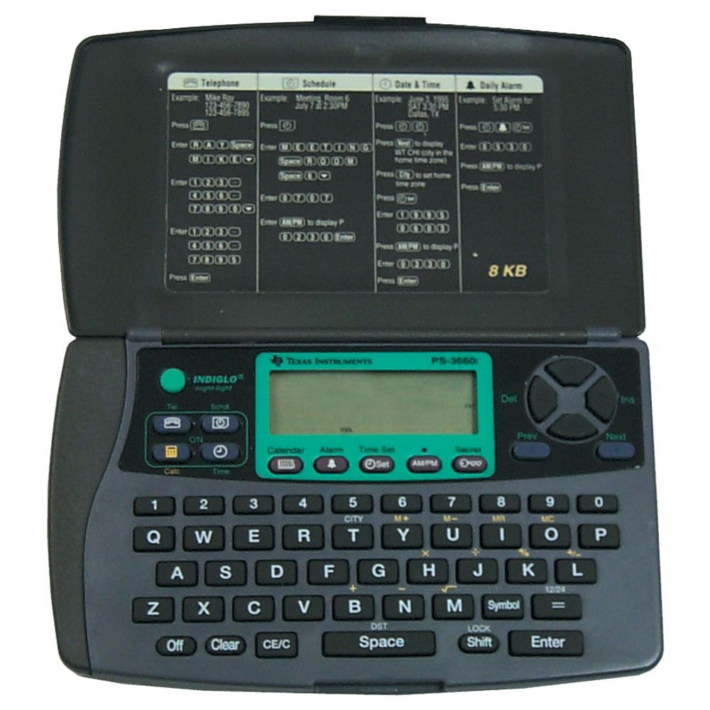 Agenda eletrônica - 8 Kb