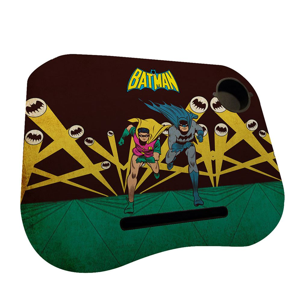 Porta Laptop Mdf/Plástico DC Batman E Robin Running