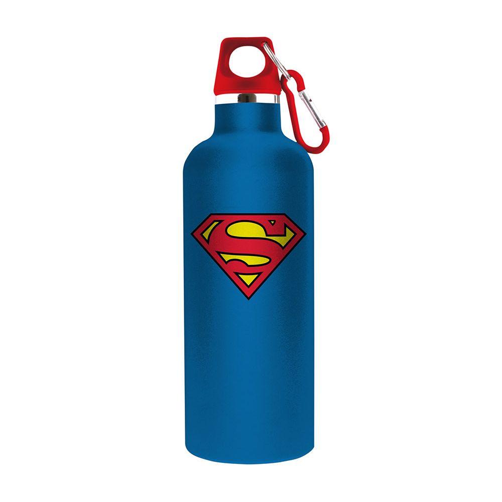 Garrafa Alumínio DC Superman Logo Azul