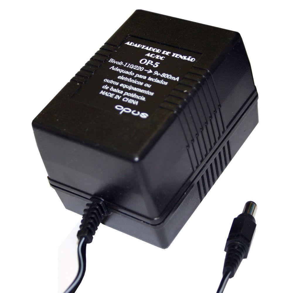 Eliminador De Pilhas 800 Ma - Ac Bivolt / Dc 9 V