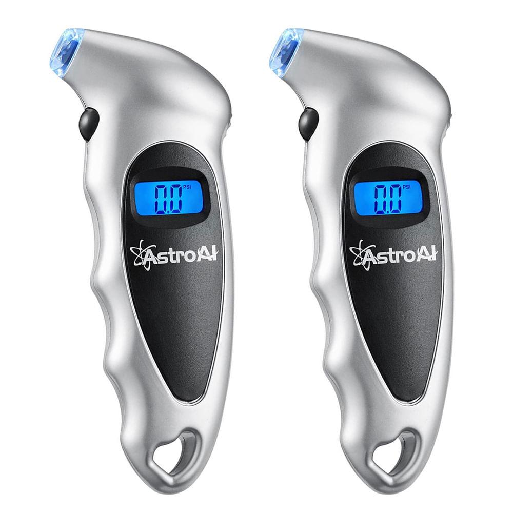 Medidores Digitais AstroAI de pressão de Pneus até 150 PSI