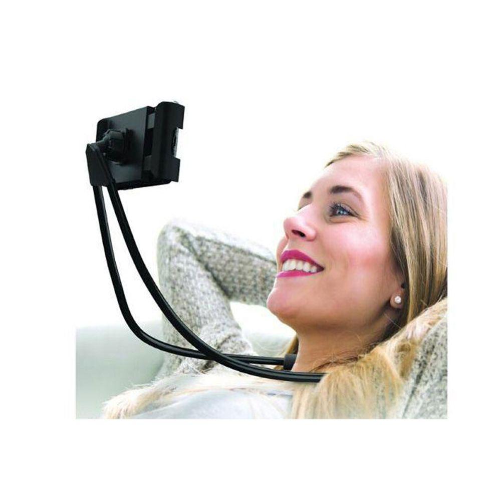 Suporte p/ Smartphone e Tablet Vivitar c/ rot. 360° e alça de pescoço flexível e ajustável