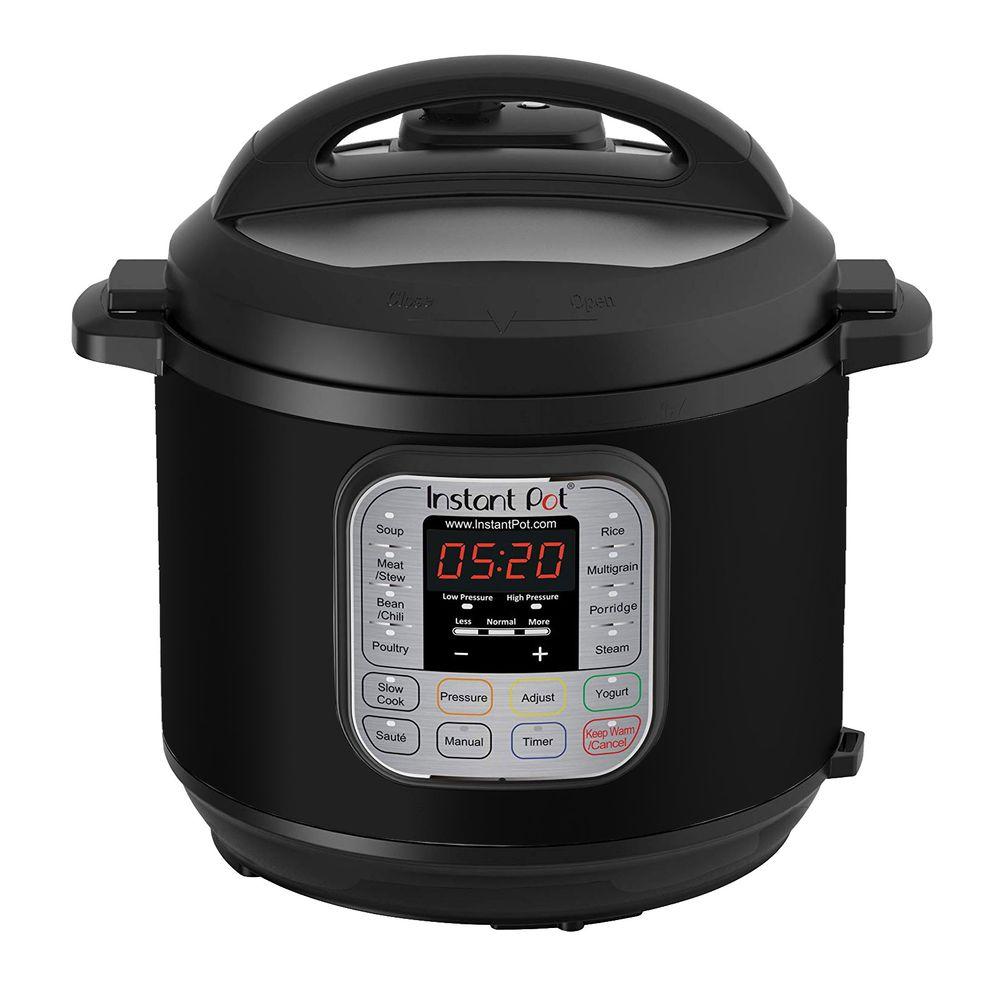 Panela de Pressão elétrica Instant Pot DUO60 Multiuso Programável Preta 110V