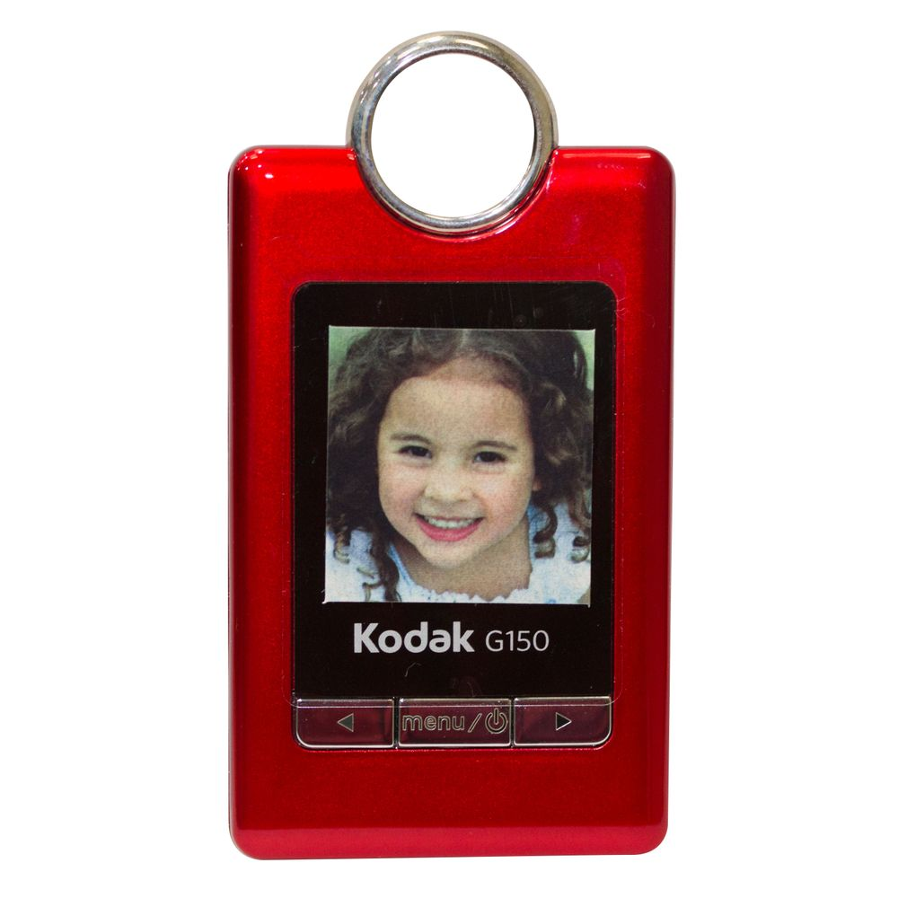Chaveiro Porta Retratos Digital Kodak Com Lcd De 1,5 Polegadas E Relógio