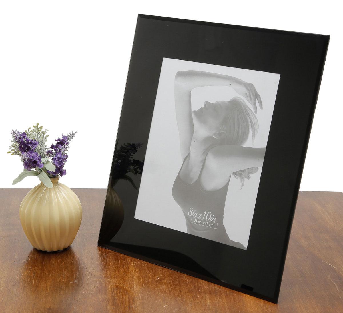 Porta-retrato de vidro 10x15cm
