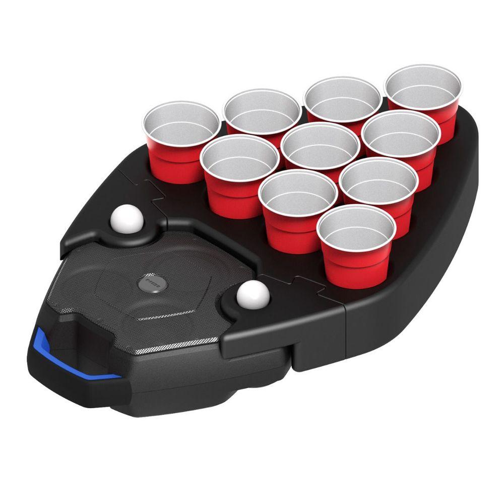 Boombox flutuante à prova d´água Party Float ION com porta-copos e bandeja Pong