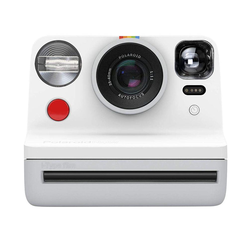 Câmera Polaroid Now Autofocus i-Type 9027 com impressão Instantânea - Branca