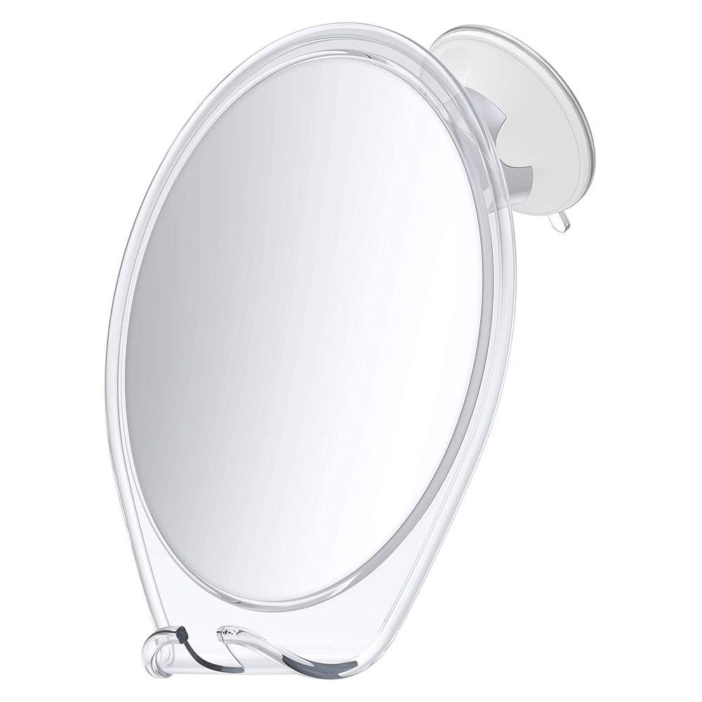 Espelho para Banheiro com suporte para barbeador
