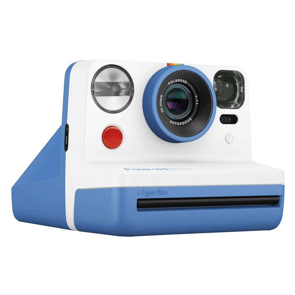 Câmera Fotográfica Now C/impressão Instantânea - Branca/azul