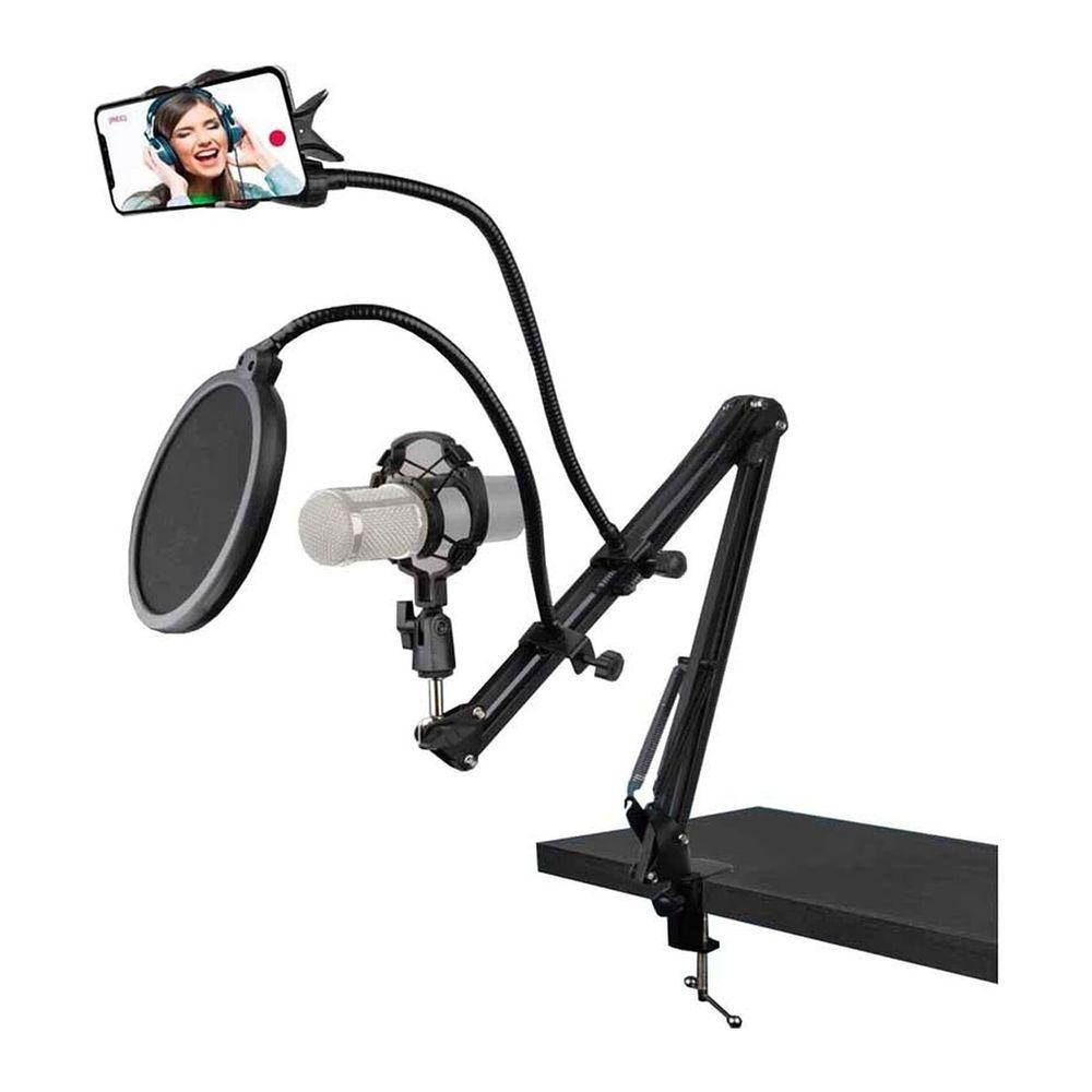 Kit Streaming com Suporte para microfone e Smartphone