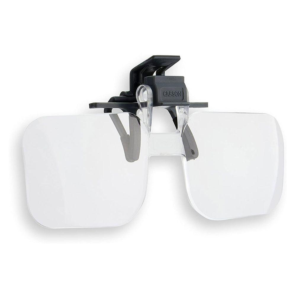 Lupa 1,5 x Serie Clip and Flip com encaixe para óculos