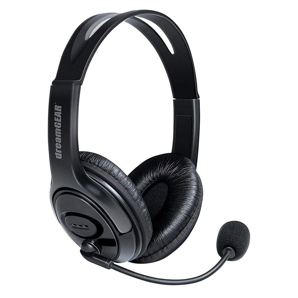 Gaming Headset com conchas grandes para PS4