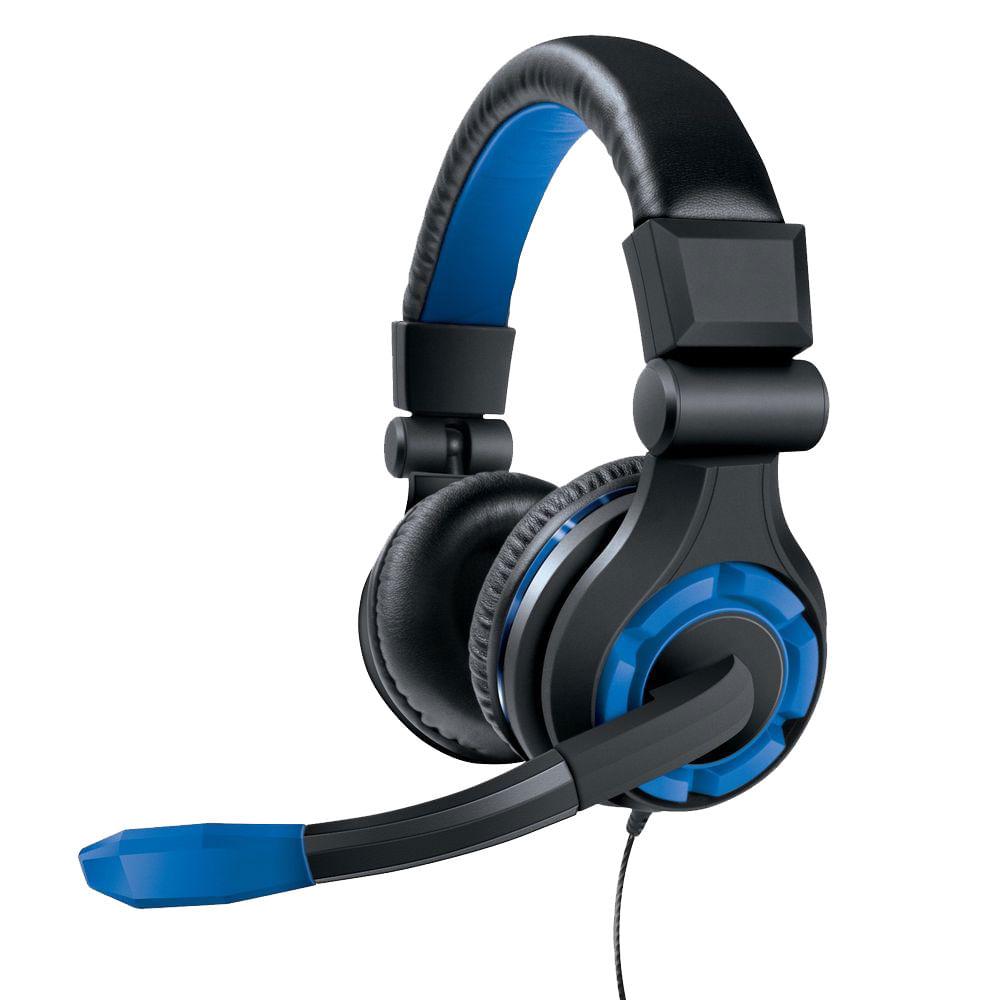 Headset para PS4, XBOX 360, XBOX One, Wii U, PS Vita e outros dispositivos de áudio