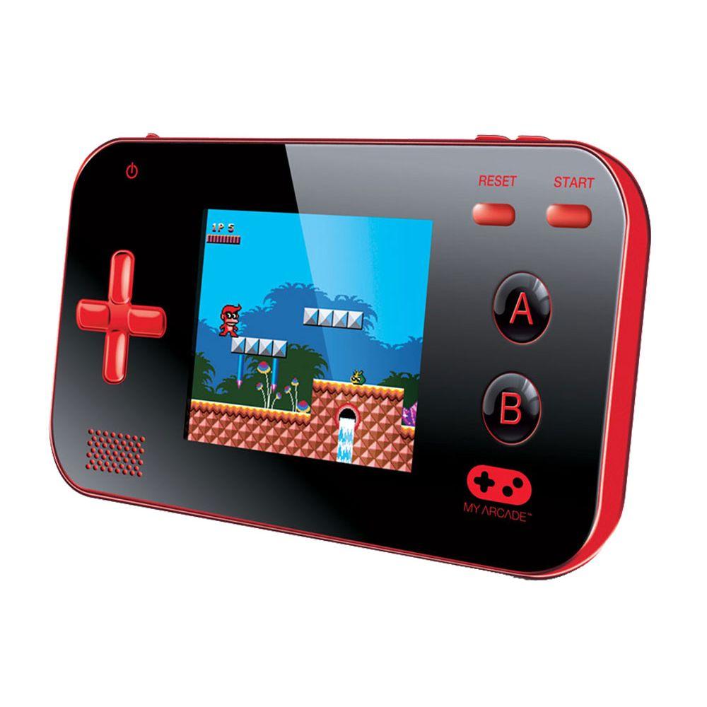 Console portátil My Arcade Game V Dreamgear DGUN-2889 Vermelho com preto