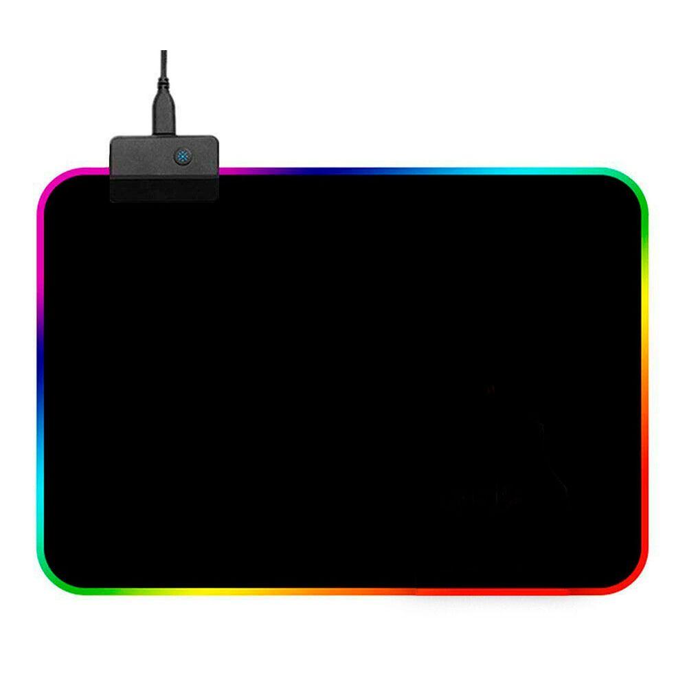 Led Gaming Mouse Pad com 12 modos de cores