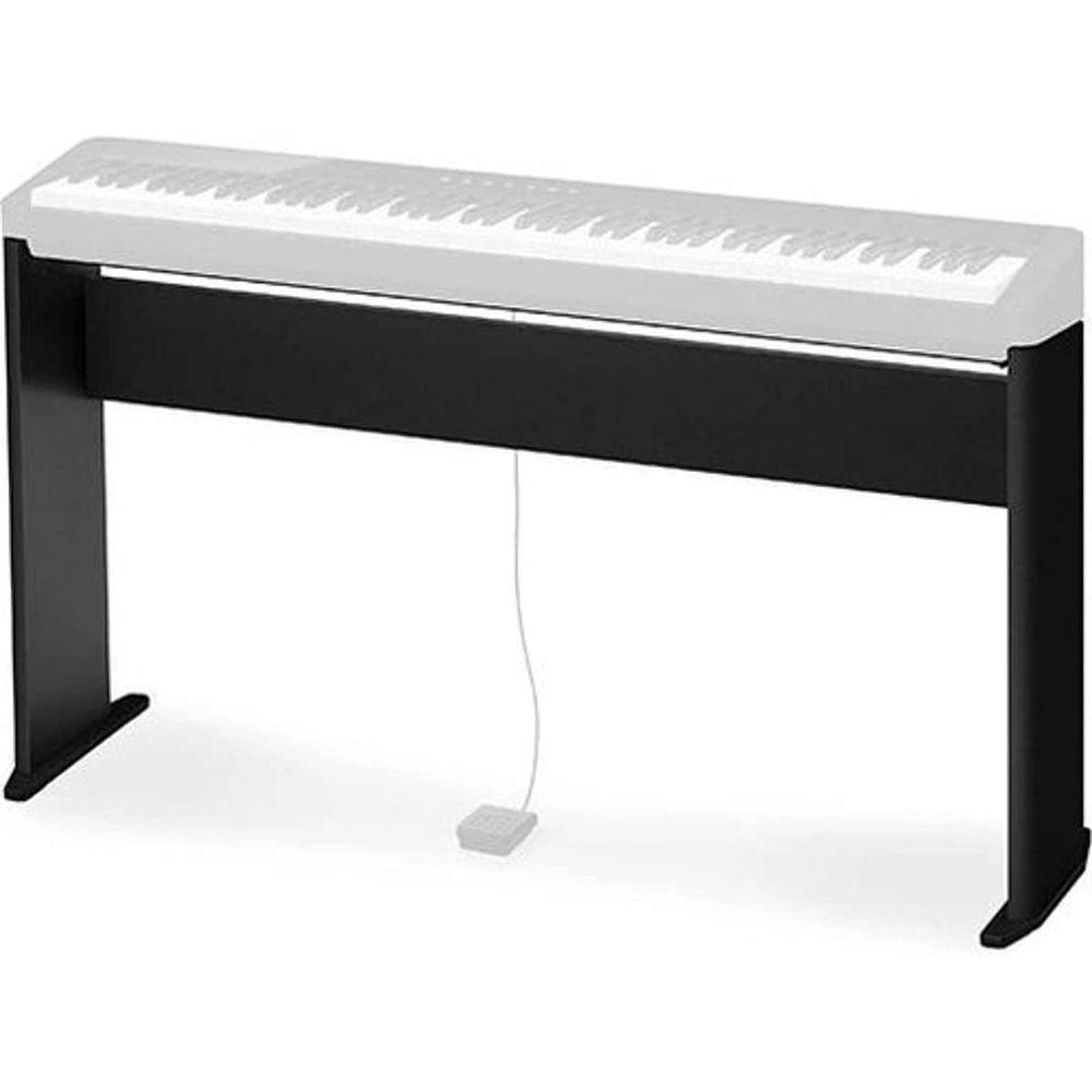 Suporte Base para uso em Piano Digital Casio PX-S1000 e PX-S3000 - Preto