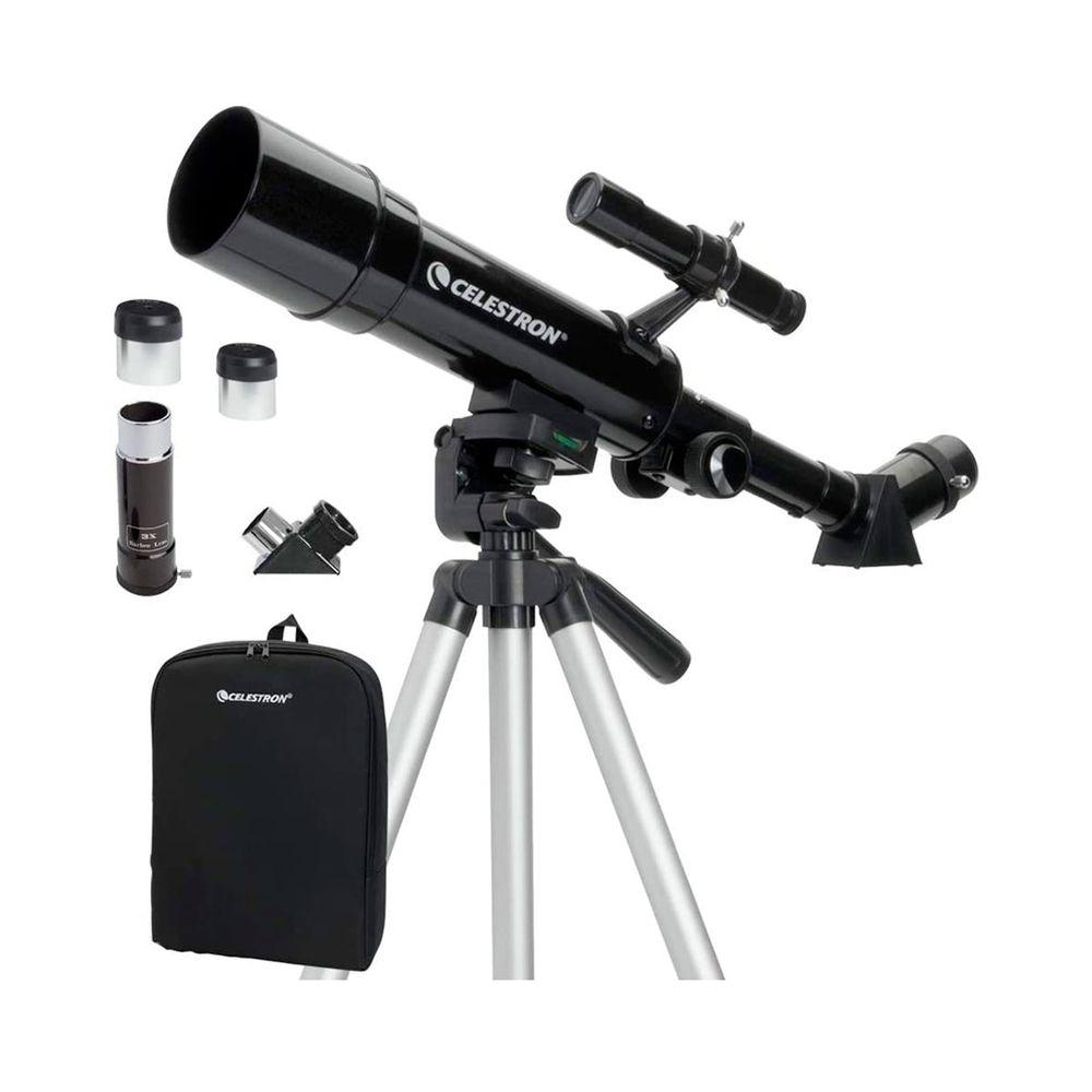 Telescópio Refrator TravelScope 50mm com tripé e mochila