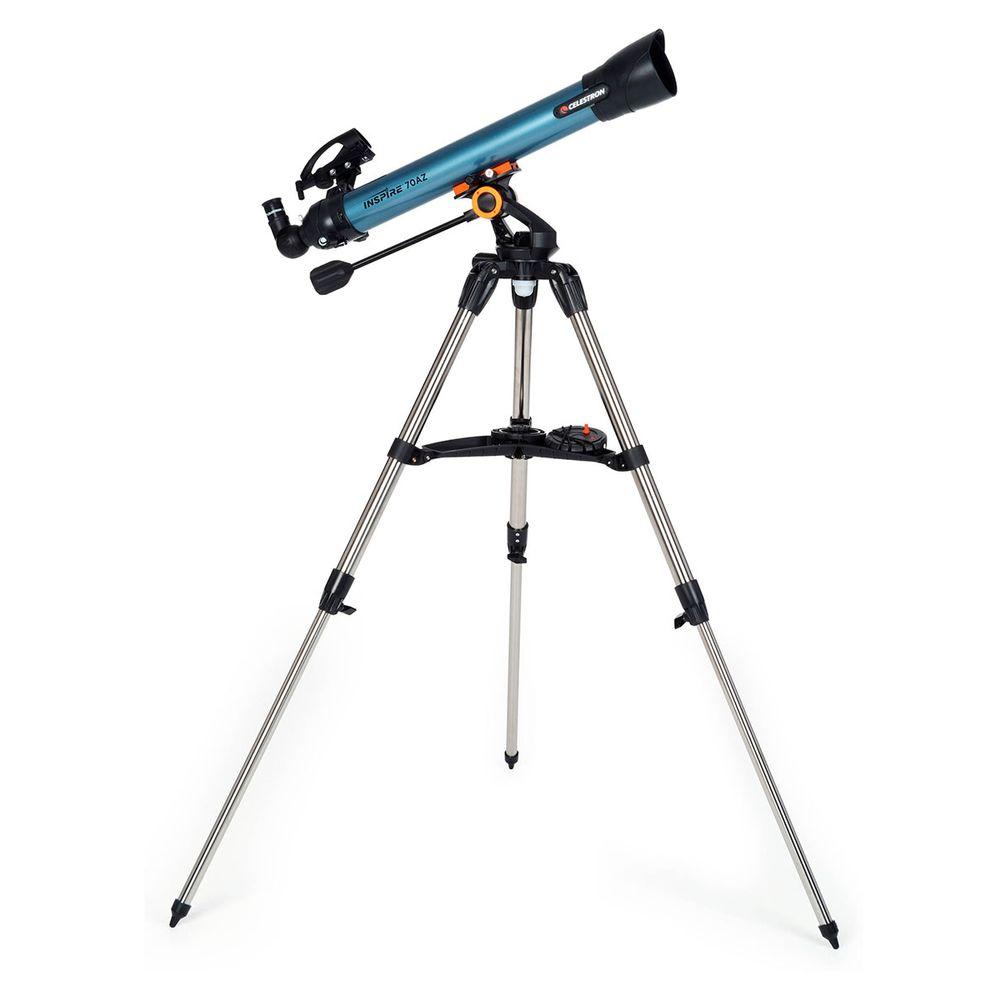 Telescópio Refrator Inspire 70mm com adaptador para Smartphone