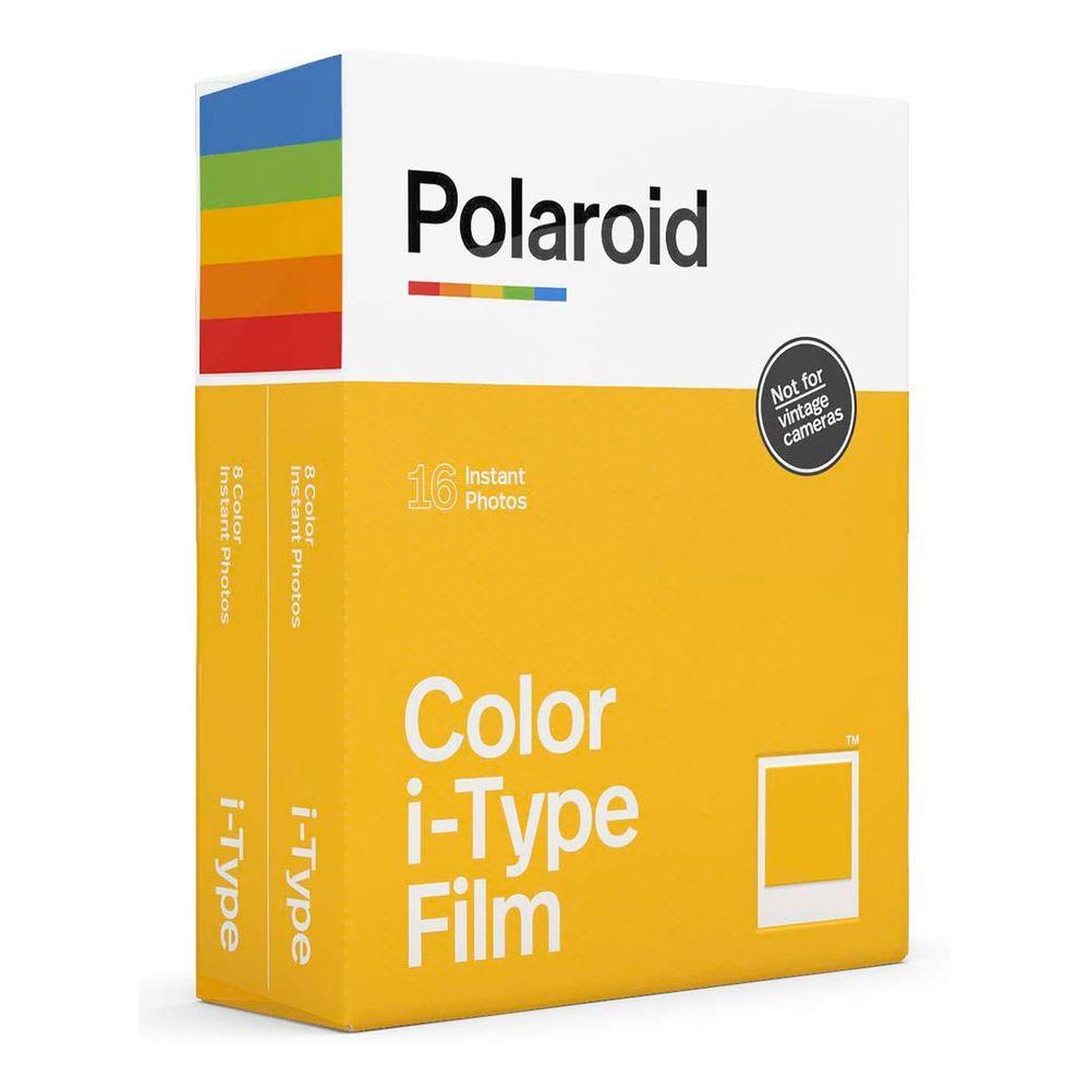 Filme Original Polaroid Color i-Type Film para 16 Fotos Instantâneas