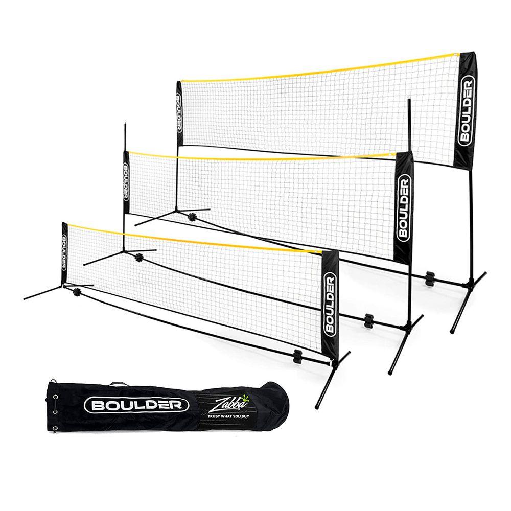Rede portátil para Tennis, Pickleball,  Soccer Tennis, Badminton e KIDS´ VolleyBall