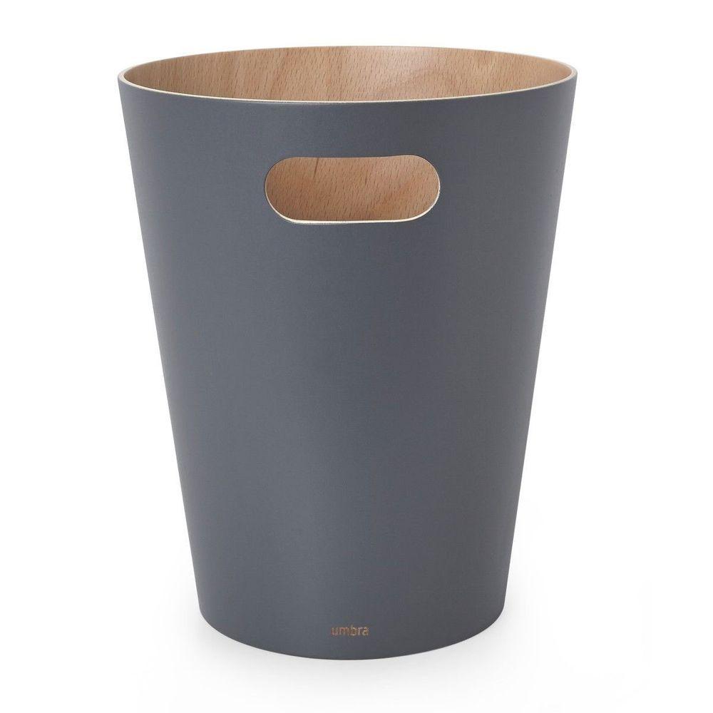 Lixeira em madeira Woodrow 7,5 L para escritório