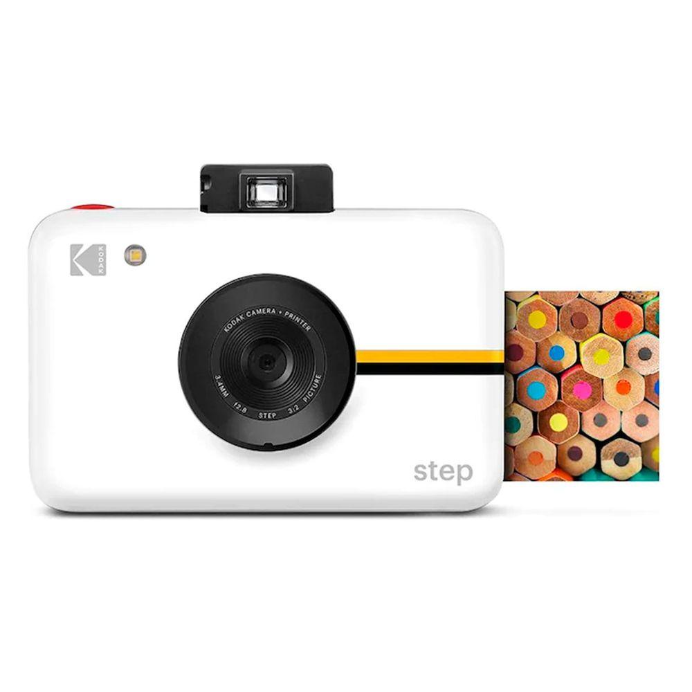 Câmera Kodak Step com impressão instantânea 2x3 polegadas